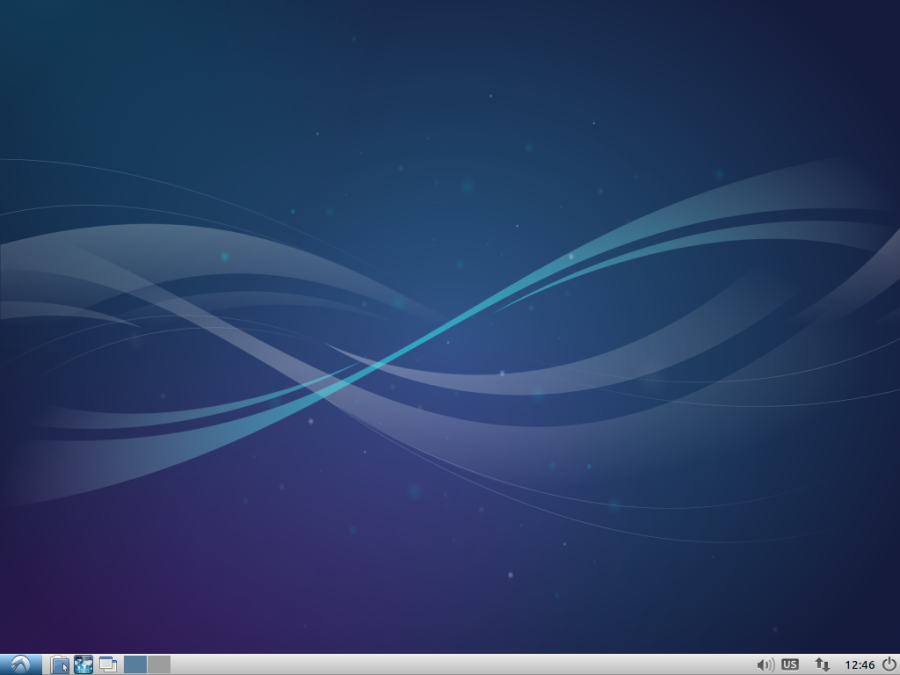 Screenshot of just installed Lubuntu Linux for your WordPress test server